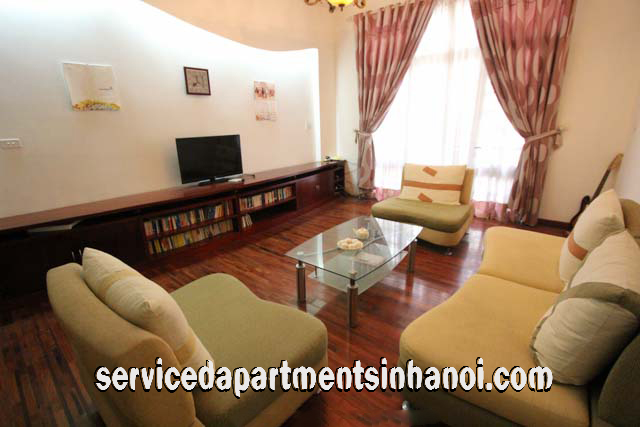 Four Bedroom House Rental in peaceful Area of Truc Bach, Ba Dinh