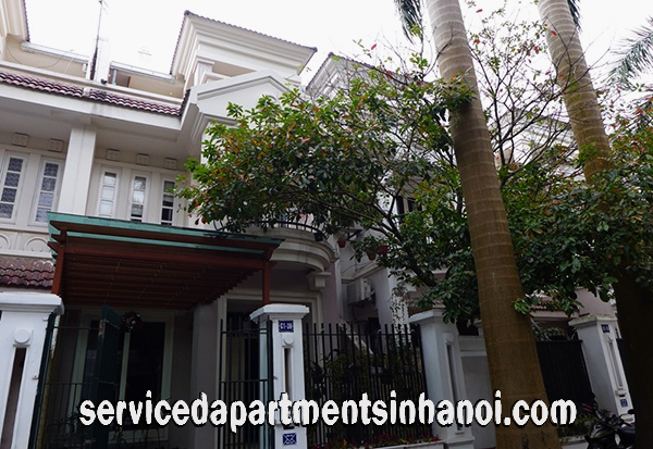Four Bedroom Villa for rent in Block C1, Ciputra Hanoi, Ready for a Big family living