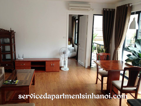 Full of light serviced apartment in Hai Ba Trung, Brand New