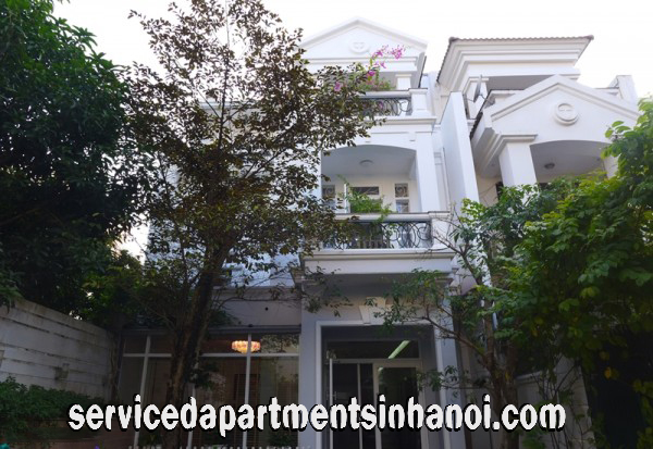 Fully Furnished Five Bedroom Villa for rent in Block C, Ciputra, Walking distance to UNIS