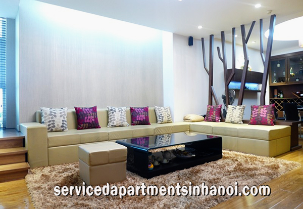 Fully furnished Three bedroom Apartment Rental in  Tower E1, Ciputra Area