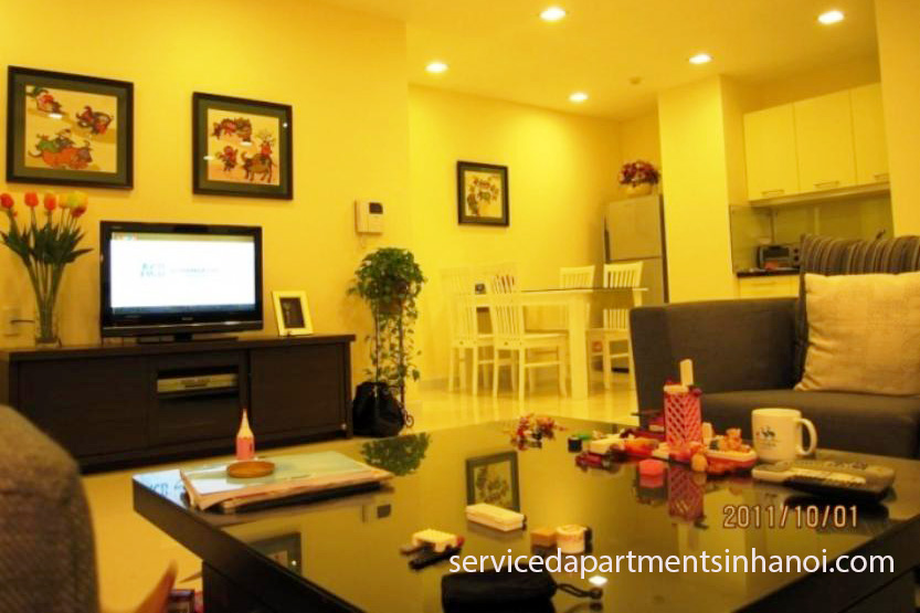 . Furnished 2 bedroom apartment for rent in IPH  Cau Giay