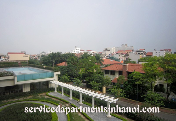 Gorgeous serviced apartment for rent in Dang Thai Mai street, Tay Ho