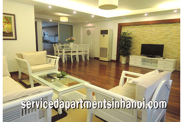 Gorgeous Two bedroom Serviced apartment Rental in Trich Sai Str, Tay ho