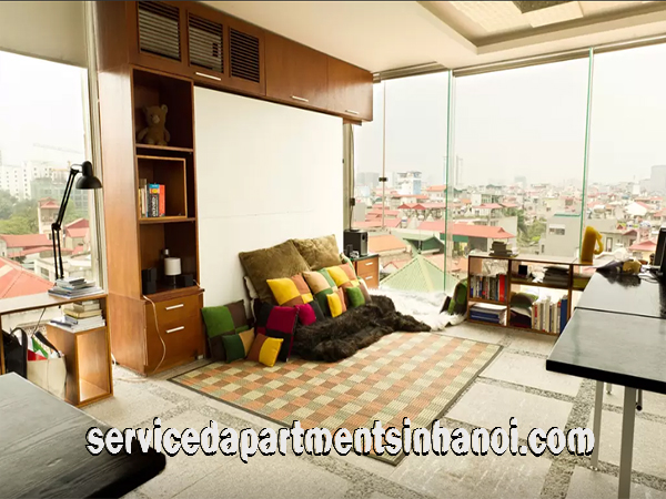 Great View Modern Penthouse Apartment Rental in Dong Da, Hanoi