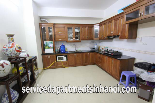 High Floor Three Bedroom Apartment Rental in 93 Lo Duc Street, Hai Ba Trung