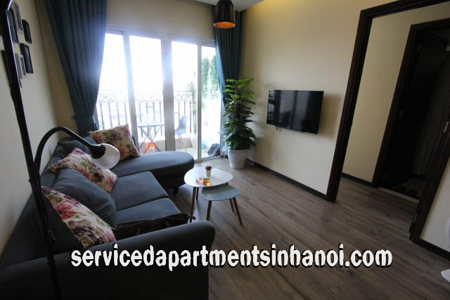 High Floor Two Bedroom Apartment Rental in Hoa Binh Green City, Hai Ba Trung