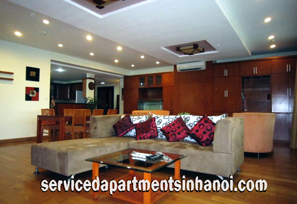 High Quality Fully Furnished Three bedroom Apartment for rent in E1 Building, Ciputra area