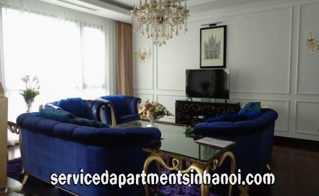 High Quality Spacious Four Bedroom apartment for rent in Vinhomes Royal City, Thanh Xuan