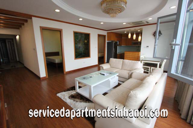High Quality Three Bedroom Apartment Rental in Eurowindow Building, Tran Duy Hung str