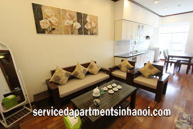 Lake view One Bedroom Apartment Rental in Truc Bach Area, Ba Dinh