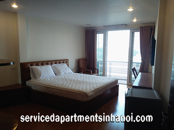 Lakeview Flat for rent in Truc Bach, Ba Dinh, Shared Kitchen