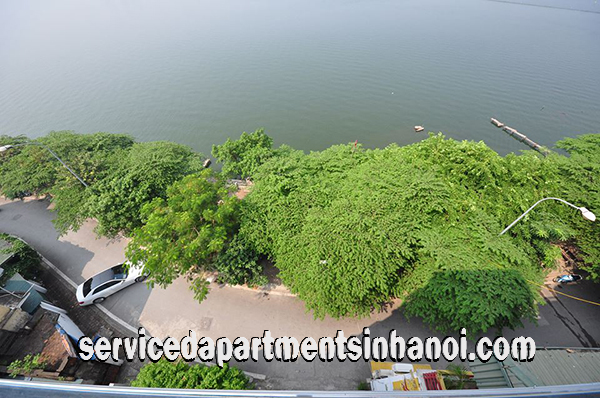 Lakeview  One Bedroom Apartment rental in Yen Phu Village, Tay Ho, Brand New Appliances