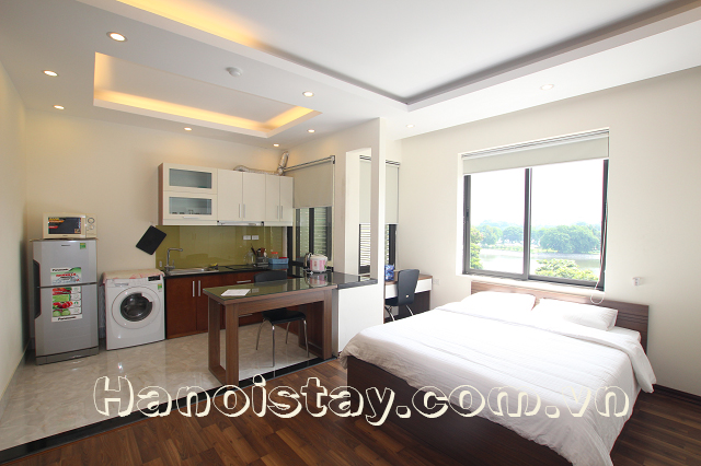 Lakeview Serviced Apartment Rental in Le Duan street, Dong Da