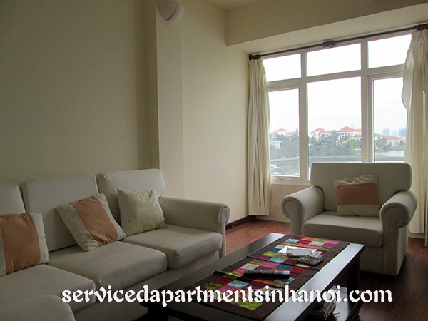 Lakeview two bedroom apartment for rent in To Ngoc Van, Tay Ho