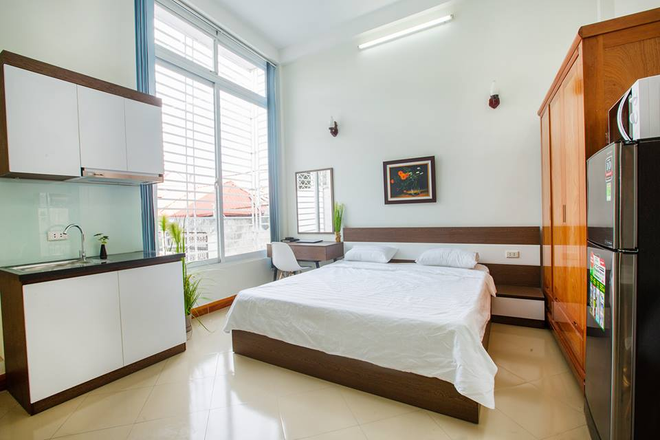 Lovely Studio Apartment Rental in Thai Thinh street, Dong Da