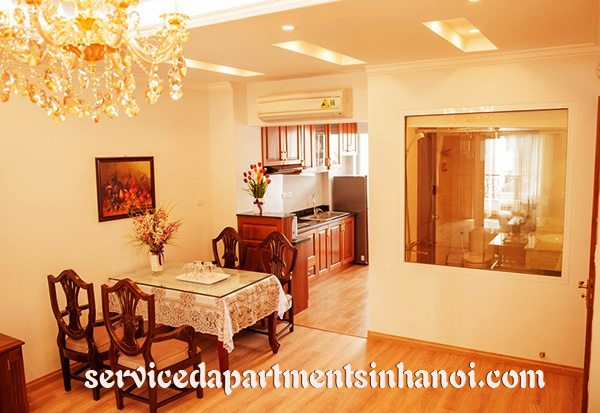 Luxury Serviced apartment for rent in Mai Hac De street, Hai Ba Trung, High Quality Amenities