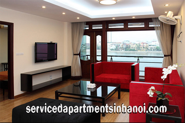 Luxury serivced apartment with lakeview  in Quang An str, Tay ho