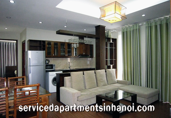 Modern Apartment for rent in Dang Thai Mai str, Tay Ho, Elevator and Balcony