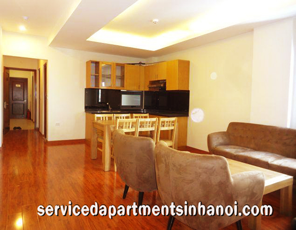 Modern  Apartment Rental in Pho Duc Chinh street, Truc Bach