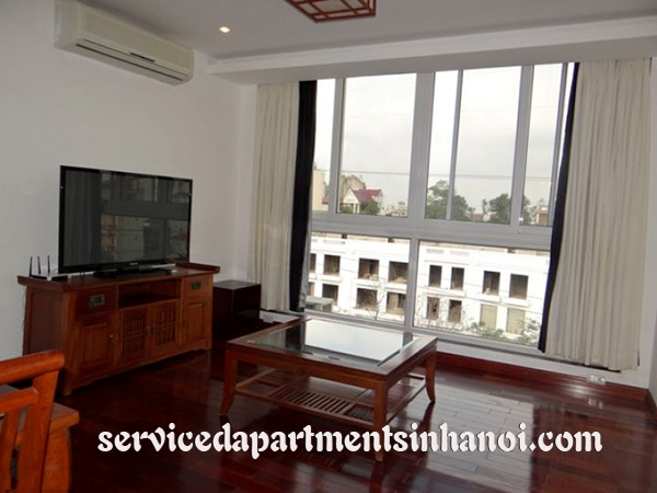 Modern Duplex Three bedroom serviced apartment Rental in Truc Bach