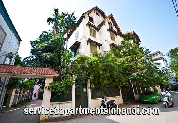 Modern Four Bedroom House for rent in Dang Thai Mai str, Tay Ho, Cozy Design