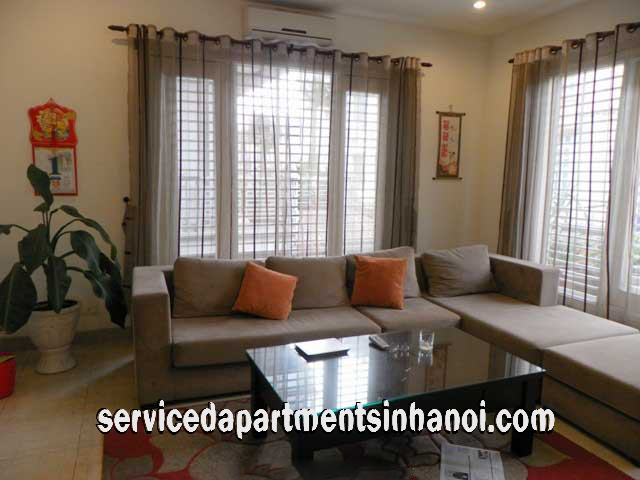 Modern furnished Four bedroom Apartment Rental in Nui Truc str, Ba Dinh