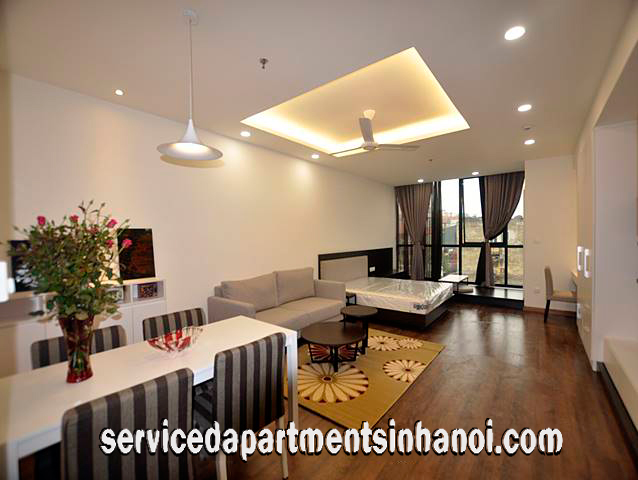 Modern Furniture Apartment for rent in Lancaster Building, Ba Dinh