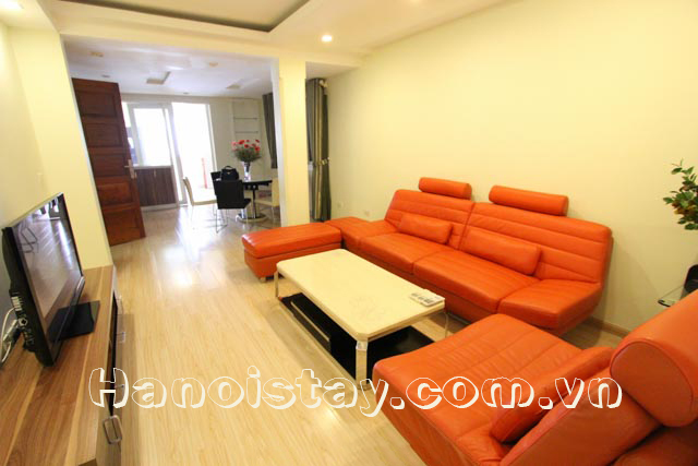 Modern Three Bedroom Apartment Rental in Giang Vo street, Dong Da