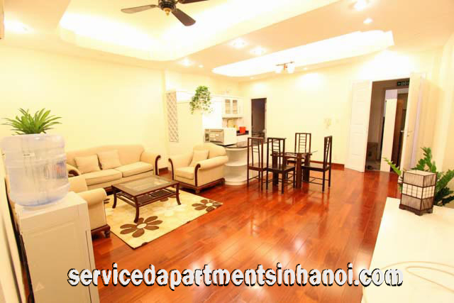 Modern Two bedroom apartment for rent in Tran Quoc Toan Str, Hoan Kiem
