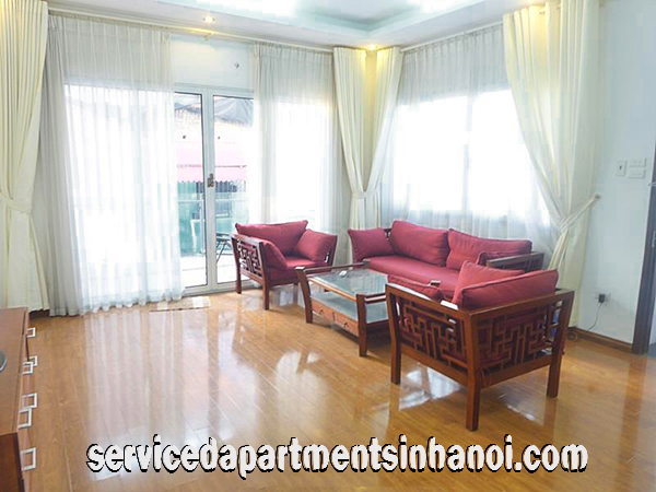 Modern two bedroom apartment for rent near Thong Nhat park