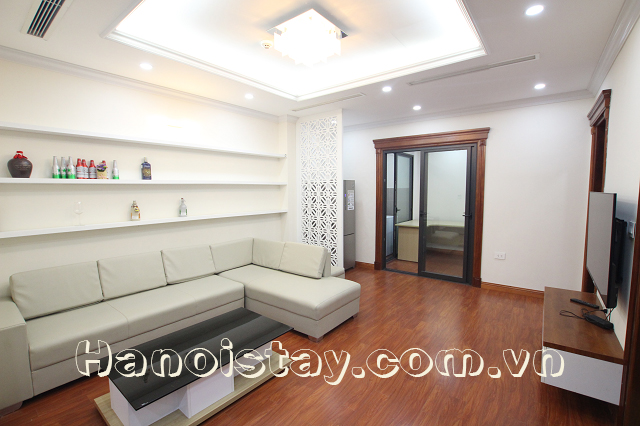 Modern Two bedroom Apartment Rental in Thai Hai Street, Dong Da