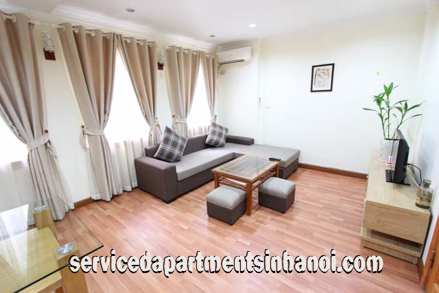 Modernised one bedroom apartment for rent in Kim Ma street