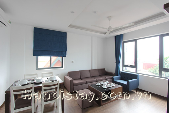 New And Nice Fully Furnished Apartment Rental In To Ngoc Van Street, Tay Ho