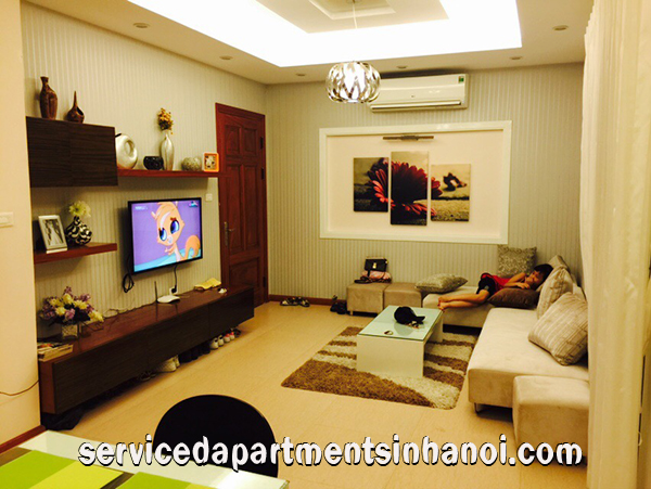 New Serviced Apartment for rent on Tran Phu street, Ba Dinh