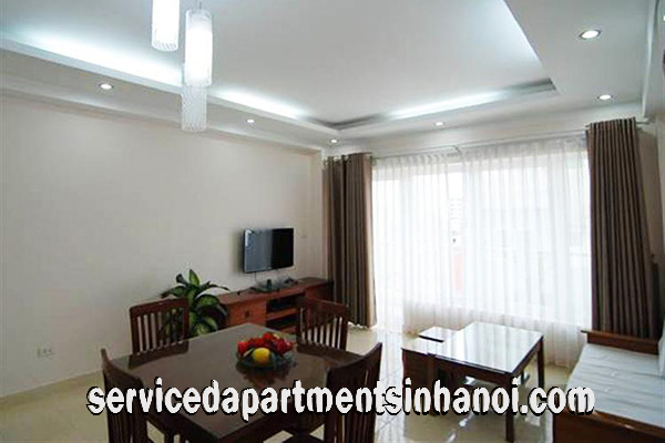 Newly renovated apartment in Truc Bach area for rent