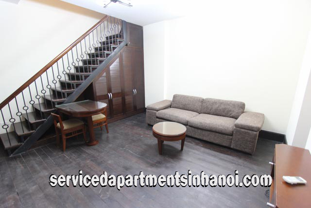 Newly Renovated Duplex Apartment Rental in Pham Hong Thai street, Ba Dinh