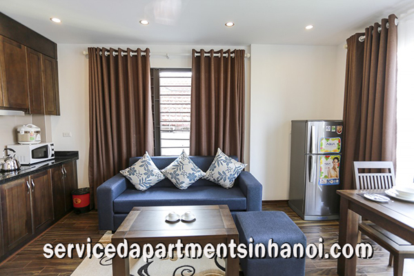 Newly Renovated Serviced apartment Rental in Tran Quoc Hoan Str, Cau Giay
