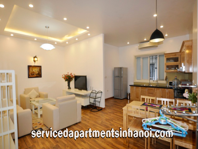 Newly Renovated Two Bedroom Apartment Rental in Truc Bach area, Ba Dinh