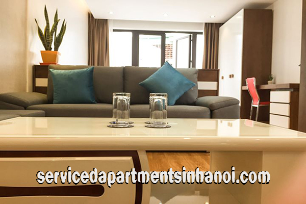 Nice Amenity Serviced Apartment Rental in Dong Da district, Hanoi