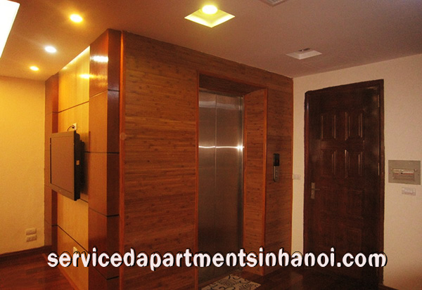 Nice decoration serviced apartment for rentin Xuan Dieu, Tay Ho, Panorama Lake view