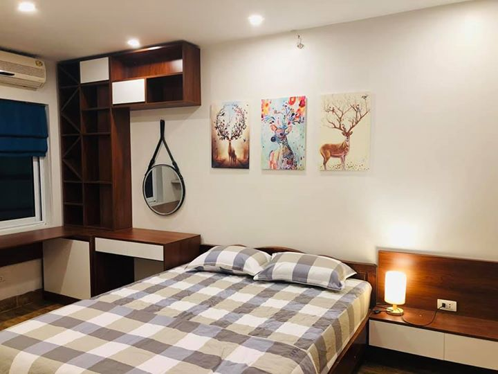 Nice Loft Studio Apartment Rental in Giang Vo Area, Ba Dinh