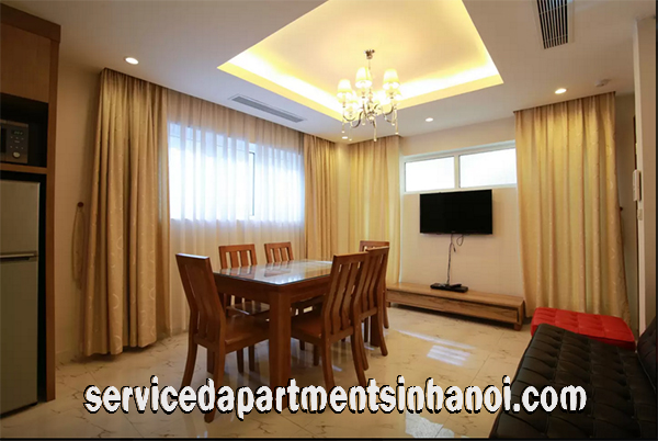 Nice One Bedroom Apartment in IDC Building, Heart of Hanoi