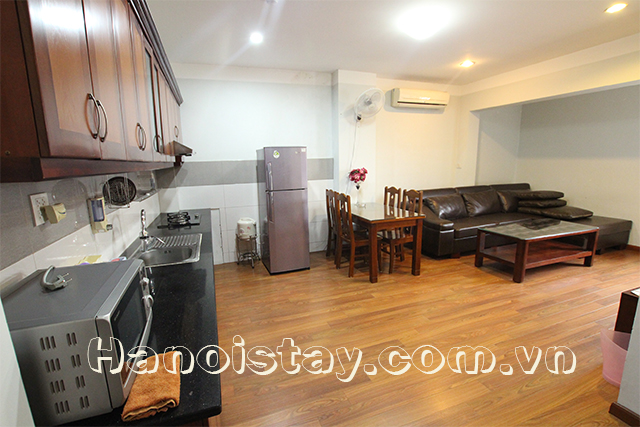 Nice One Bedroom Apartment Rental in Cat Linh street, Dong Da