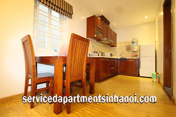 nice one bedroom apartment rental near thong nhat park