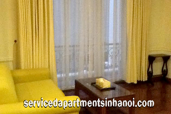 Nice studio rental in Yen Phu Village, Tay Ho, Cheap price