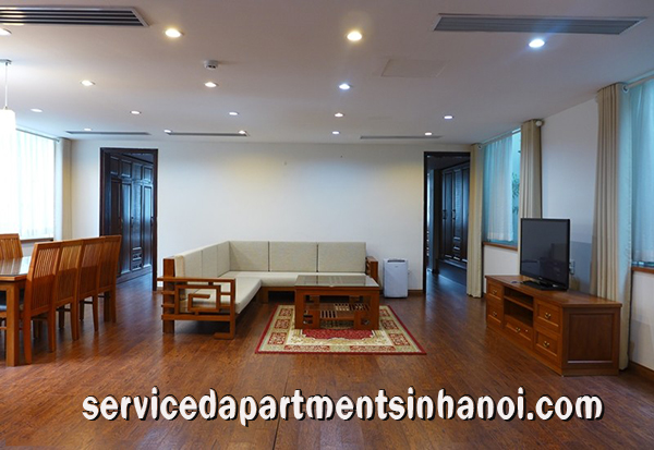 Very Nice and Spacious Two Bedroom Apartment Rental in Dang Thai Mai str, Tay Ho