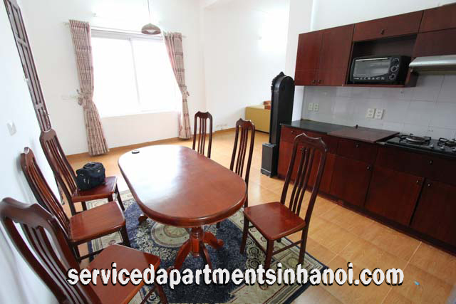 One bedroom apartment Rental with the panoramic Thong Nhat Park View