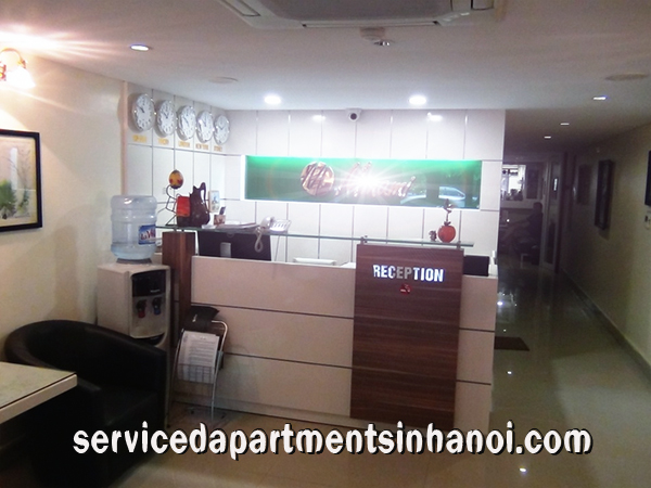 One bedroom serviced apartment for rent in Lieu Giai, Ba Dinh