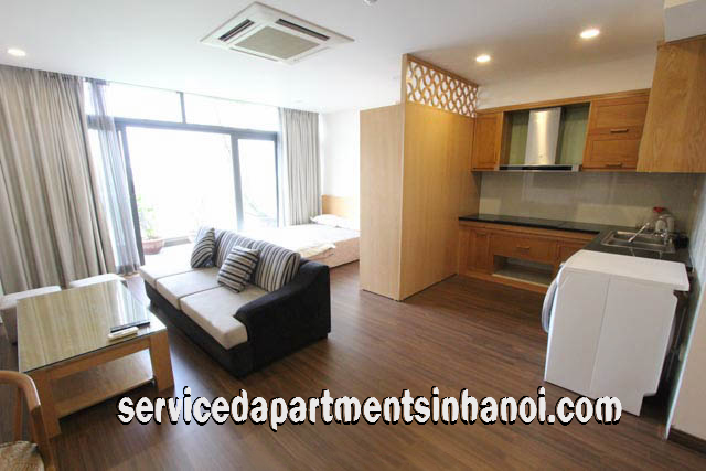 Open Floor Plan Apartment Rental in Nguyen Cong Tru str, Hai Ba Trung
